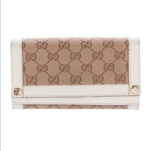 GG Canvas Charmy Continental Wallet